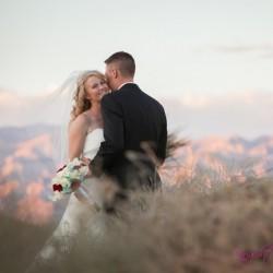 Knight Sounds Entertainment Captures Breanne & Grady's Summer Wedding at Las Vegas Paiute Golf Resort