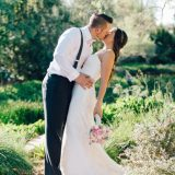 Jenna Ebert Photography Captures Reina and Justin's Romantic April Wedding at Springs Preserve