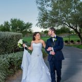 Images by EDI Captures Bella & Tyler's Green-Themed Wedding at Anthem Country Club
