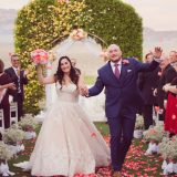 Jasmine and Micah Become Husband & Wife With a Charming Tea Party Inspired Wedding