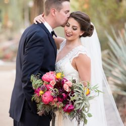 Fall in Love With Jenna & Brett's Bohemian Autumn Wedding at Springs Preserve