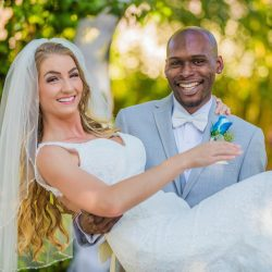 """Kerry and Cornell Say """"I Do"""" With a Las Vegas Destination Wedding"""