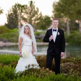 Mindy Bean Photography Captures Megan and Jaren's Chic Black & White Wedding