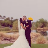 Daisy and Jason Become Husband & Wife with Rainy April Wedding at TPC Summerlin