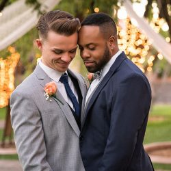 "Justin and Bryin Say, ""I Do"" With an Elegant October Wedding Captured by M Place Productions"