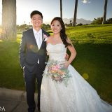 "Judy and Eric Say ""I Do"" With a Dreamy October Wedding at Canyon Gate Country Club"