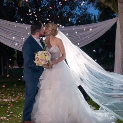 Bridal Spectacular Features A Las Vegas Wedding Captured By Ella Gagiano Photography Seven Years Ago Mutual Friends Tried To Set Up Amanda And Cory On