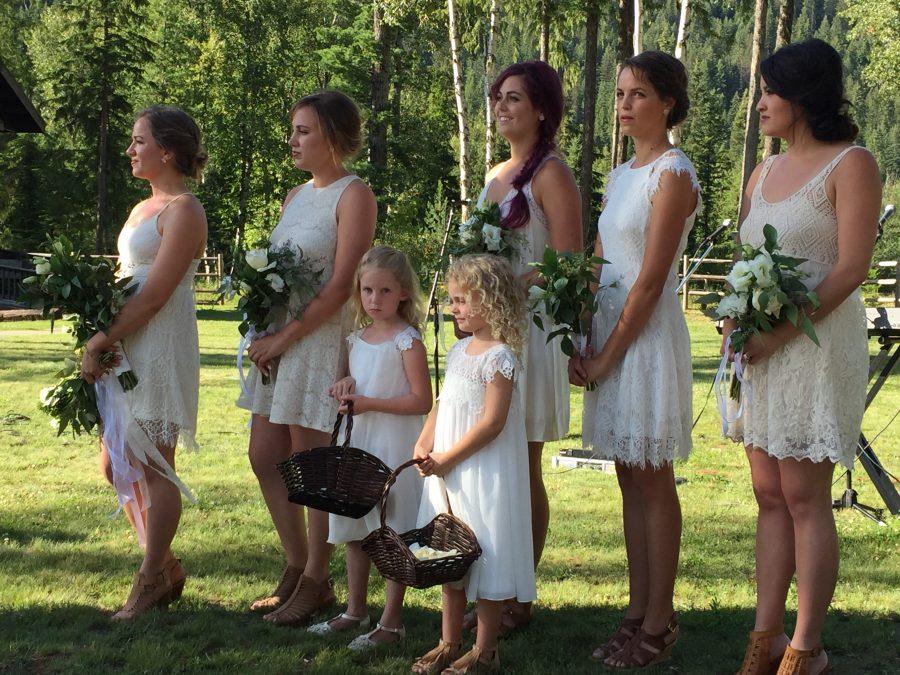 Montana Ivory and Green Wedding