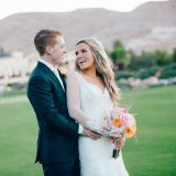 Jenna Ebert Photography Shares Ara & Chad's Stunning Autumn Wedding at Southern Highlands Golf Club