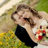"Christina and James Say, ""I Do"" With a Scenic Autumn Wedding at Las Vegas Paiute Golf Resort"