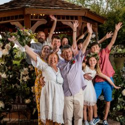 Family from Belgium celebrate with intimate Las Vegas Wedding Bridal Spectacular