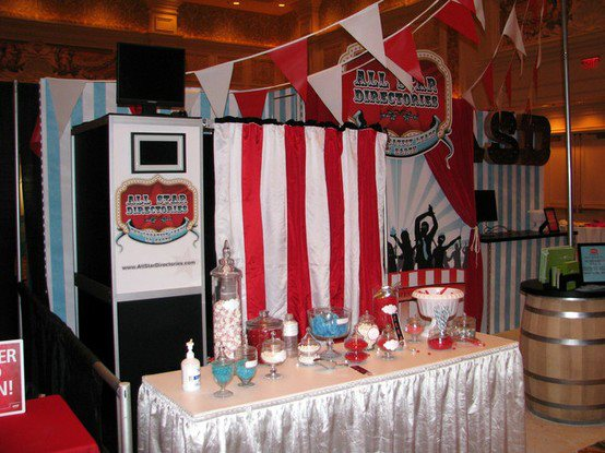 Customized photo booth from ShutterBooth