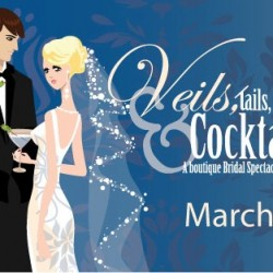 Veils, Tails & Cocktails March 22 at The ARIA