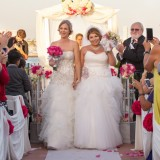 Vania Lynd Photography Captures Miriam and Kristen's Stunning Waterfront Wedding in Long Beach